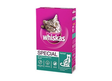 Корм Whiskas Special HairBall