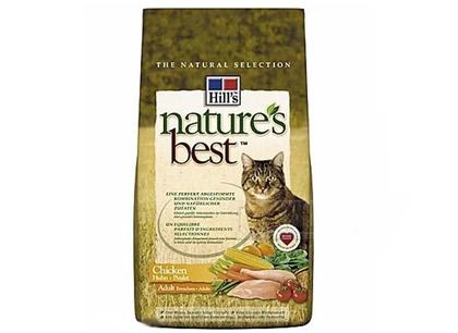 Корм для стареющих кошек Hill's Natures Best с курицей фото