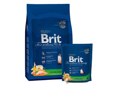 Brit Premium Cat Sterilized для Стерилизованных Кошек с Курицей фото