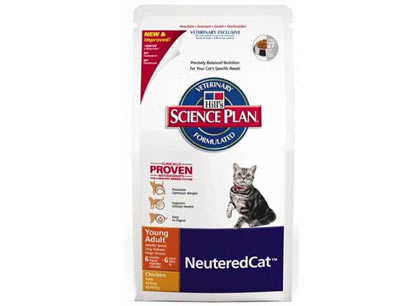 Корм для кошек Hill's стерилизованных с 6 месяцев до 6 лет с курицей фото