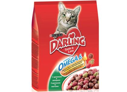 Корм для кошек Darling с кроликом и овощами фото
