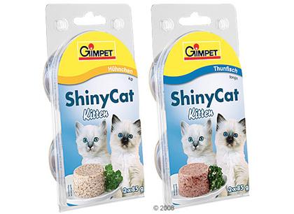 Консервы для котят с тунцом Gimpet ShinyCat Kitten (Джимпет Шайникэт Киттен) фото