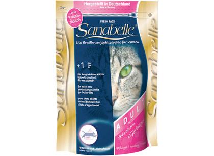 Sanabelle Adult Корм для взрослых кошек с мясом домашней птицы фото