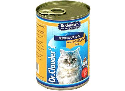 Корм для кошек Dr.Clauders с сердцем фото