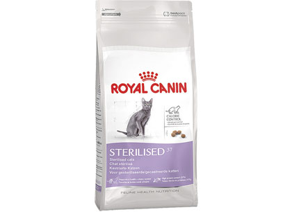 Корм для кошек Royal Canin Sterilised 37 для стерилизованных кошек, 400г фото
