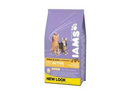 Корм для котят Iams с курицей 300г фото