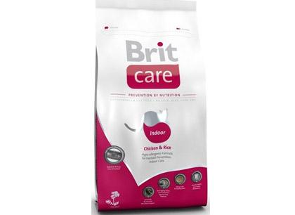Brit Care Cat Indoor корм для взрослых кошек живущих в помещении фото