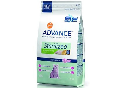 Advance Cat Sterilized Turkey & Barley (Эдванс Кет Стерилайзед Туркей энд Барлей)