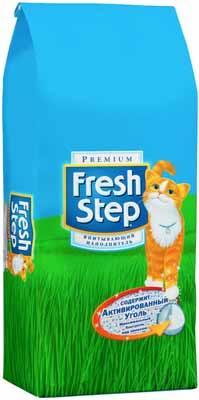Наполнитель Fresh Step для кошачьего туалета 6,35кг фото