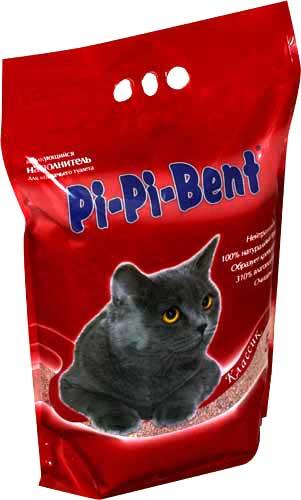 Наполнитель Pi-Pi-Bent Classic для кошачьего туалета фото