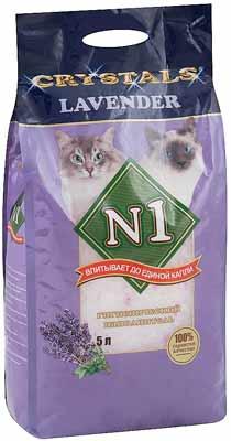 Наполнитель №1 Crystals для кошачьего туалета Lavender фото