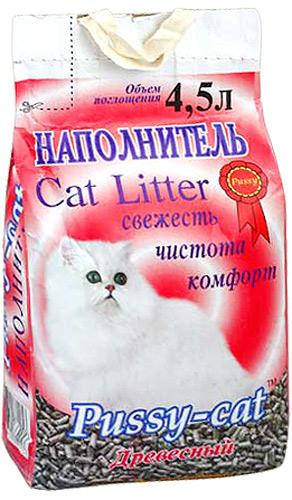 Наполнитель Pussy-Cat для кошек фото
