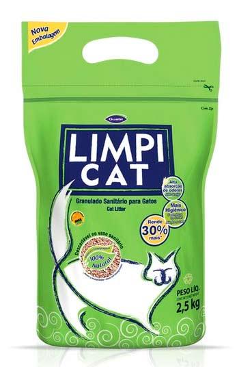 Limpi Cat пшеничный гранулированный наполнитель фото