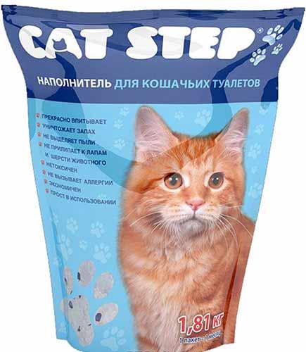 Наполнитель Cat Step силикагелевый фото