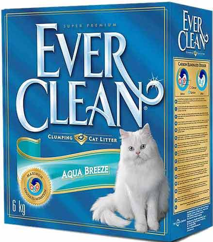 Ever Clean Aqua Breeze комкующийся с ароматом Морского Бриза фото