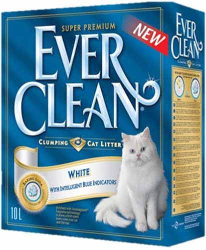 Ever Clean White с гигиеническими индикаторами (Белая полоса) фото
