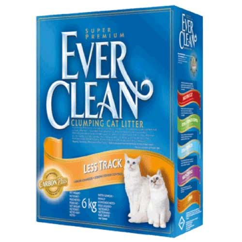 Ever Clean Less Track для длинношерстных кошек фото