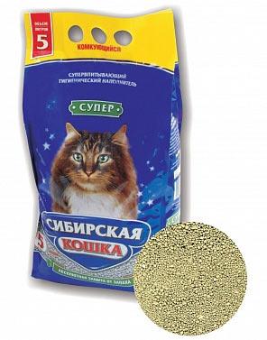 Наполнитель Сибирская кошка Супер комкующийся фото