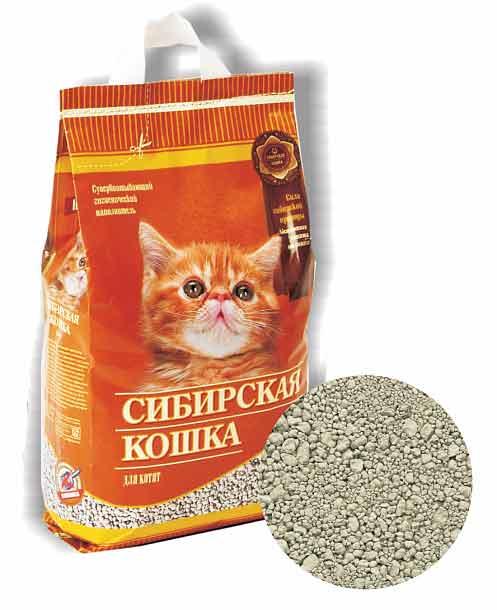 Наполнитель Сибирская кошка Для котят впитывающий фото