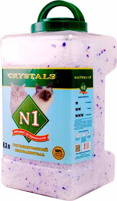 Наполнитель №1 Crystals силикагелевый фото