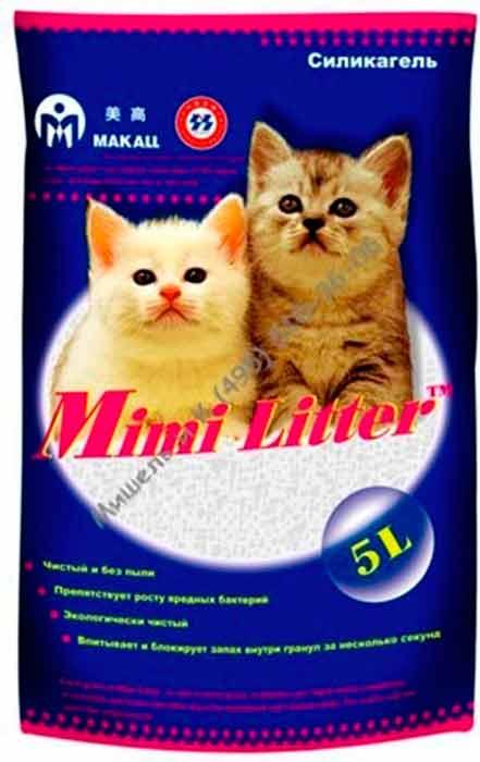 Mimi Litter силикагелевый наполнитель для котят фото