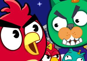 AngryBirds - Спаси кота! фото