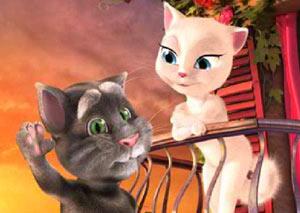 Говорящий кот Том 4 - Talking Tom Cat 4 фото