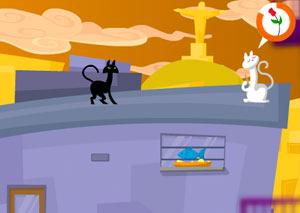 Jumping Cat (Кошачьи прыжки) фото