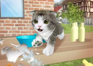 Симулятор кошки 3D фото