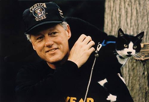 Билл Клинтон и его Сокс фото