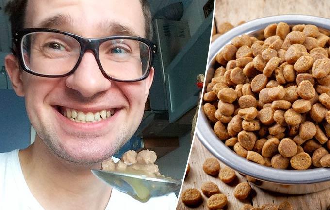 Виктор Степанов попробовал 10 кошачьих кормов и вот что из этого вышло фото