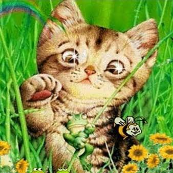 Детская песня - Мяу мяу Кошки и Коты фото