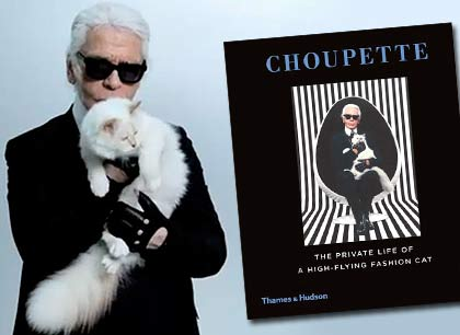 О кошке Карла Лагерфельда написали книгу фото