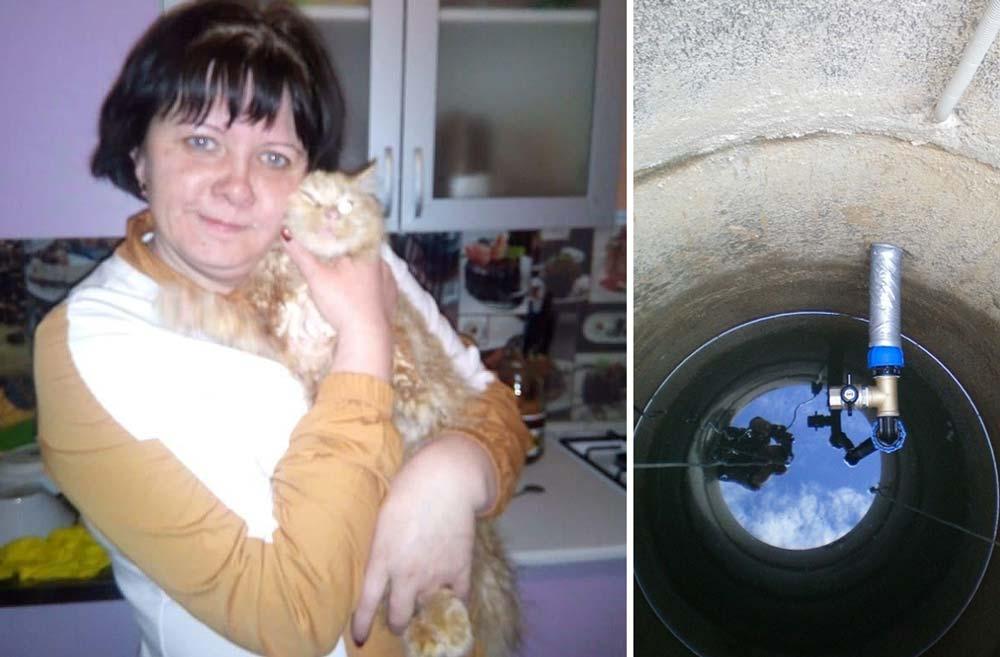 Спасатели Новороссийска спасли кота, который едва не погиб в колодце фото