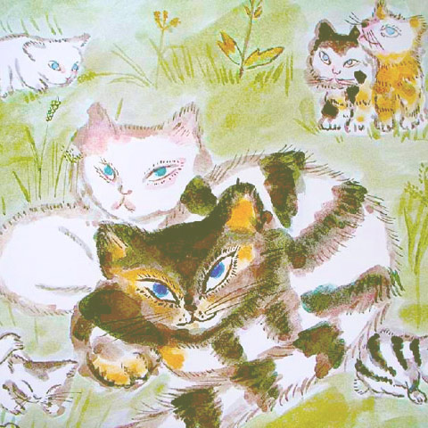 Сказка про кота, который жил миллион раз фото