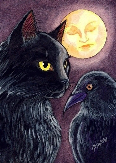 предпоследней картинке вороны и кошки картинки после получения