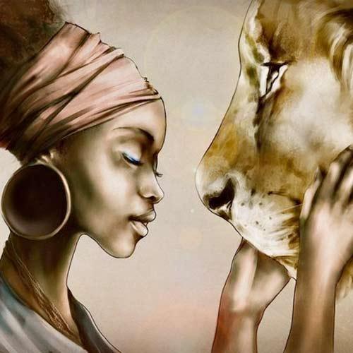 Африканская народная сказка про кошку фото