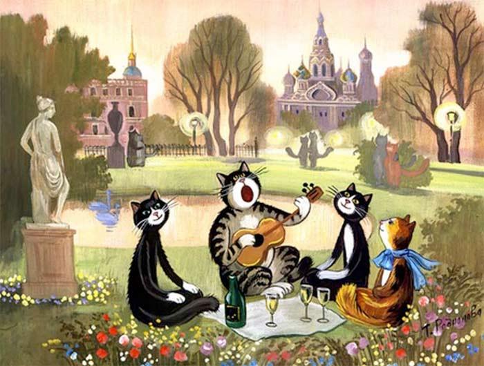 Планета кошек фото